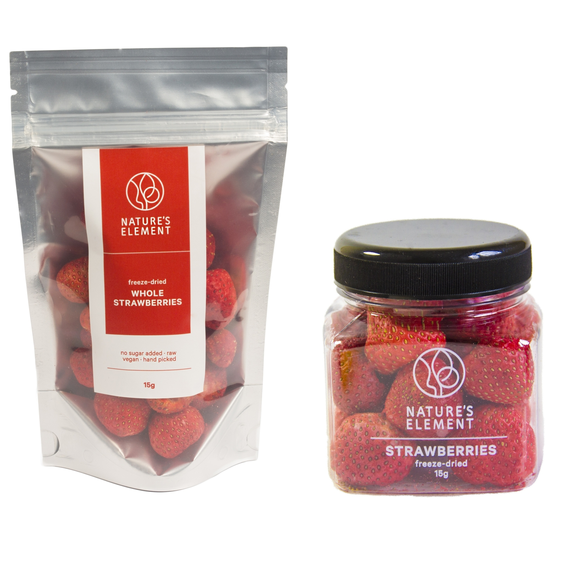 Whole Strawberries (Freeze Dried)