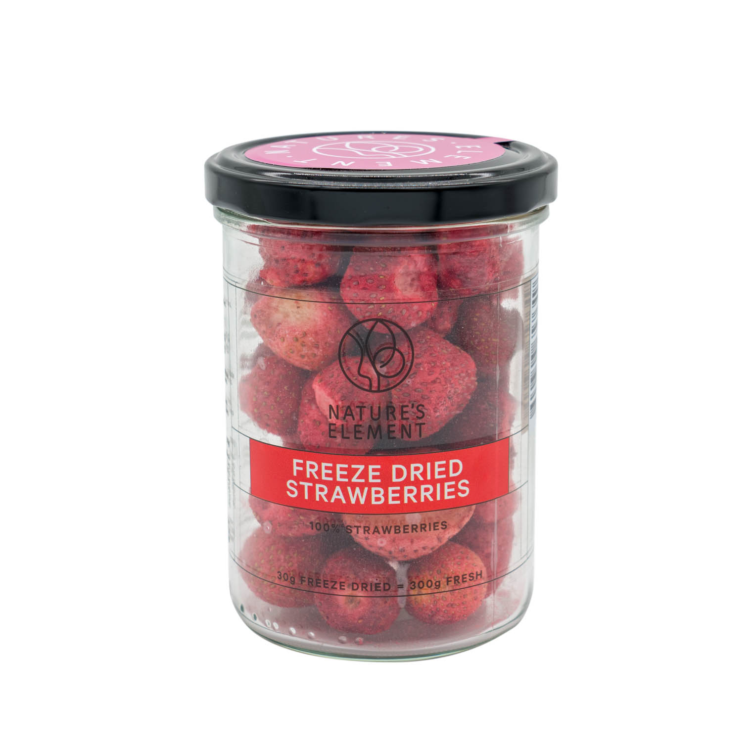 Freeze Dried Strawberries 30g